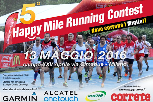 HAPPY MILE RUNNING CONTEST